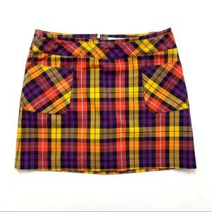 Liz Claiborne | 12 | Multicolor Plaid Skort